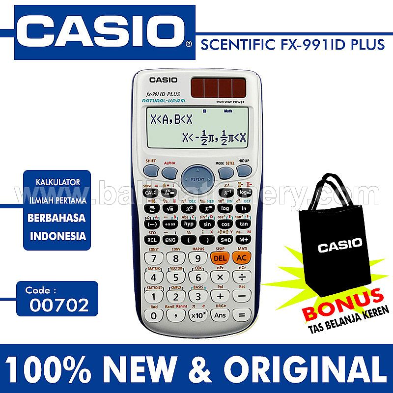 Kalkulator Casio FX - 991ID Plus